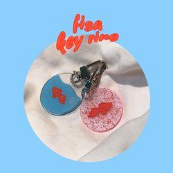 [뮤즈무드] fish key ring (키링)