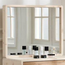 스마야 레드파인 원목 거울