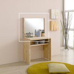드소 삼나무 원목 거울