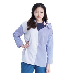 Lovely M Stripe Shirts (BLUE)