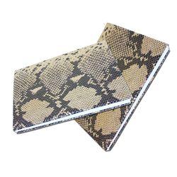 책커버리폼 셀프책커버교체 파이톤무늬소가죽[41X25]