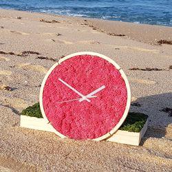 원목 스칸디아모스 벽시계(30cm)-씨클라멘