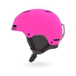 CRUE 아동 청소년용 보드스키 헬멧 - MATTE BRIGHT PINK