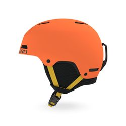 CRUE 아동 청소년용 보드스키 헬멧 - MATTE DEEP ORANGE