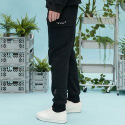 RC pocket jogger pants (black)