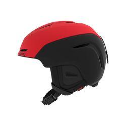 NEO AF (아시안핏) 보드스키 헬멧 - MATTE BRIGHT RED BLACK