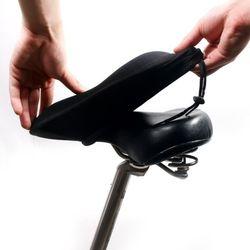 갓샵 자전거 좌물쇠 쿠션 안장 커버