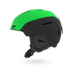 NEO JR AF 아시안핏 아동 청소년 보드스키 헬멧-MAT BRT GREEN