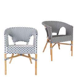 basket rattan arm chair(바스켓 라탄 암체어)