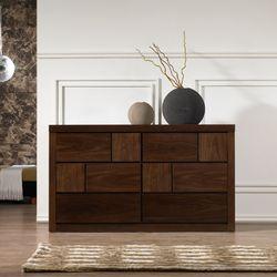 몬드리 1500 와이드 무늬목 서랍장