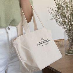 basic mini canvas bag ( ivory )