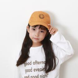 미니 스마일캡 아동 볼캡 모자
