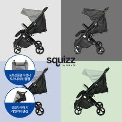 Squizz 프랑스 유모차 스퀴즈3 휴대용 절충형 기내반입 유모차