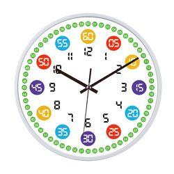 교육용 어린이 벽시계 CandyGR-ED-255W