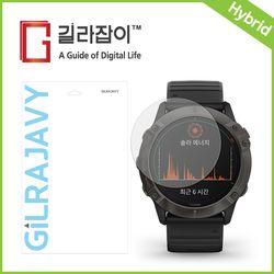가민 피닉스6X Pro Solar 리포비아H 고경도 액정보호필름 2매