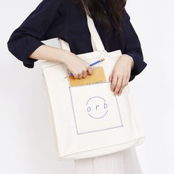 Square Pocket Bag Ivory