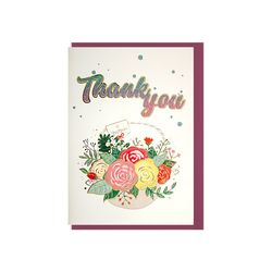 025-SG-0089  글리터 감사선물 카드