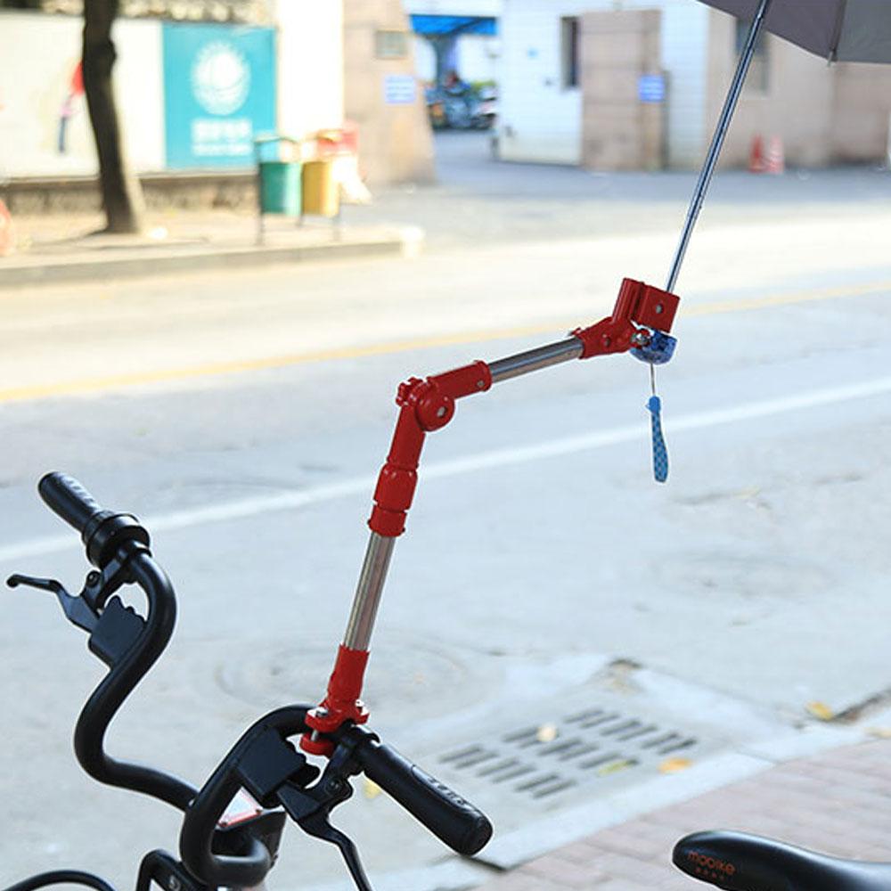 자전거 우산거치대 일자형/유모차