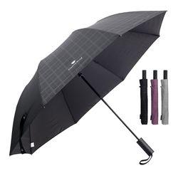 CM 2단 엠보체크 우산