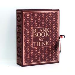 엔틱 아가일 브라운 고서적함 [VintageBookCase] BlankBook