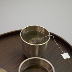 한놋 유기 물컵 유기그릇 놋그릇