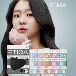 에티카 밸브형마스크 KF94 미세먼지 보건마스크 21매입