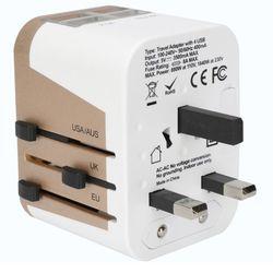 여행용 USB 4포트 멀티 어댑터 플러그