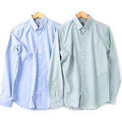 프리미엄 ST배색 옥스포드 긴팔남방셔츠 2종RFC102089