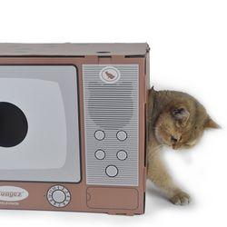 (봉봉펫닷컴) 고양이 티비 박스