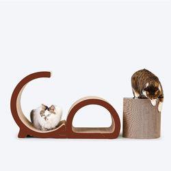 (봉봉펫닷컴) 고양이 3단 조립형 스크래쳐
