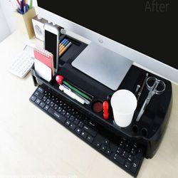 아이브릿지 MC-220 모니터 받침대(블랙)