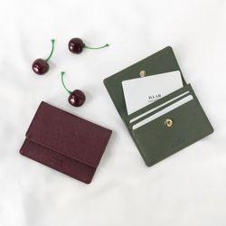 D.LAB [키링] flip simple card wallet - 4color