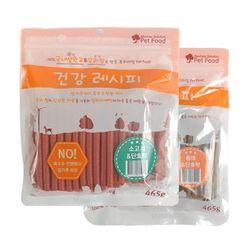 우리쌀로 만든 애견국산껌 소고기n황태 2종 세트 - d