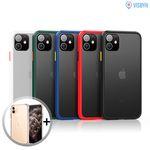 비스비 아이폰11 매트범퍼 슬림핏 케이스 2개