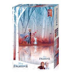 겨울왕국2 푸른 빛 바람 디즈니 500피스 직소퍼즐