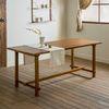 장미맨숀 로사 원목 다이닝 테이블 식탁 1800