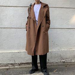 1150 후드 트렌치 코트 (2color)