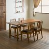 장미맨숀 로사 원목 4인용 6인용 식탁세트(의자4개)