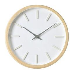 내추럴 라운드인덱스벽시계(그레이)