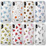 BT21 패턴 클리어 투명케이스 - 아이폰8 7