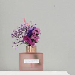 bath room 핑크 디퓨저 120ml(안개꽃)