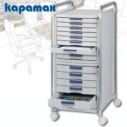 카파맥스 15단 이동형 멀티서류함 K99105 KEY서류함