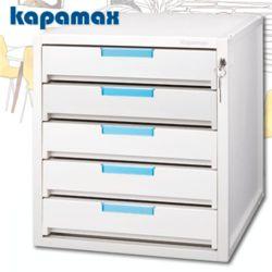 카파맥스 5단서류함 K90115 KEY서류함