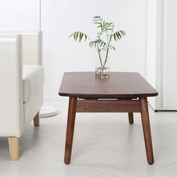 S 원목 접이식 사각 테이블 2종 택1
