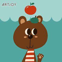 아트조이 DIY 명화그리기 아기 곰 세바스찬 20x20cm