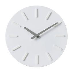 오픈 라운드인덱스벽시계(그레이)
