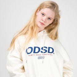 [사은품 증정] ODSD 로고 후드 티셔츠 - CREAM