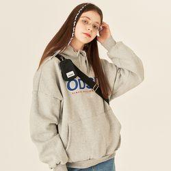 [사은품 증정] ODSD 로고 후드 티셔츠 - GRAY