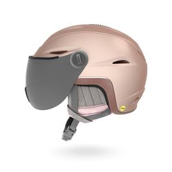 ESSENCE MIPS (아시안핏) 여성용 보드스키 헬멧 - MAT ROSE GOLD