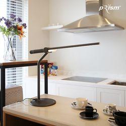 프리즘 LED 스탠드 LSP-8200화이트-다크그레이